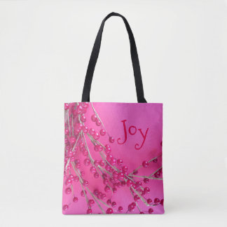 Christmas Berries Holiday Gifts Stylish Tote