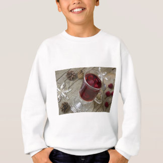 Christmas berries punch sweatshirt