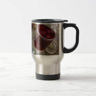 Christmas berries punch travel mug