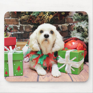 Christmas - Bichon Frise X - Maya Mouse Pad