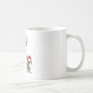 Christmas Bigfoot Family Coffee Mug