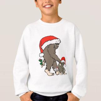 Christmas Bigfoot Family Sweatshirt