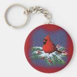 CHRISTMAS BIRD: CARDINAL: ART