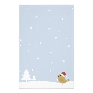 Christmas Bird Stationery