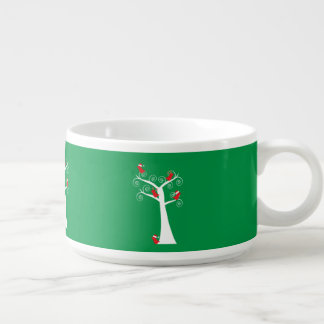 Christmas Birds in a Tree Chili Bowl