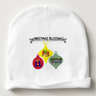 Christmas Blessing Baby Beanie
