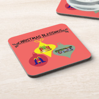 Christmas Blessing Coaster