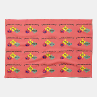 Christmas Blessing Kitchen Towel