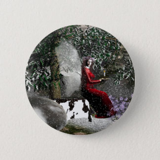 Christmas-Blessings 2 Inch Round Button