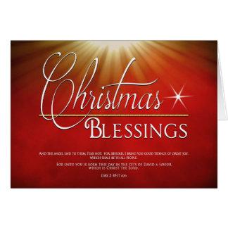 CHRISTMAS  - Blessings - Christian Religious Card