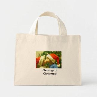 Christmas Blessings! Mini Tote Bag
