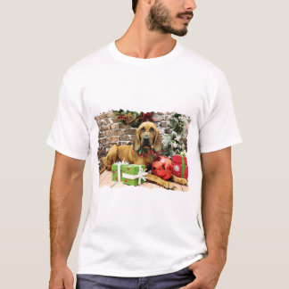 Christmas - Bloodhound - Penney T-Shirt