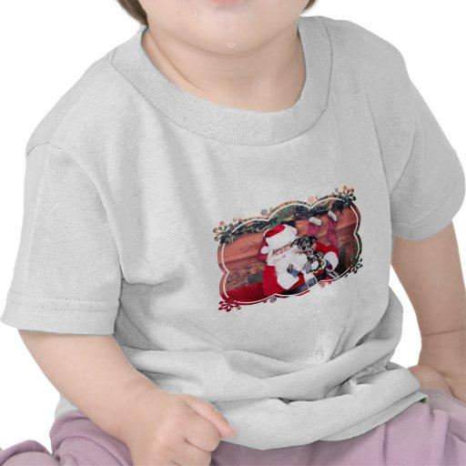 Christmas - Blue Heeler - B'Elana Tee Shirts