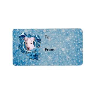 Christmas - Blue Snowflake - Pitbull - Petey