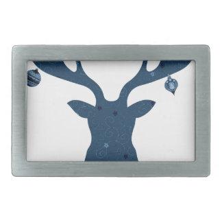 Christmas Boho Deer Head Belt Buckles