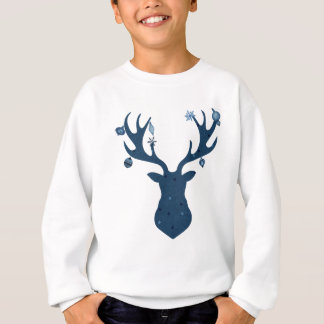 Christmas Boho Deer Head Sweatshirt