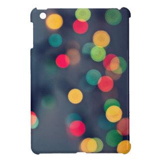 Christmas bokeh lights case for the iPad mini