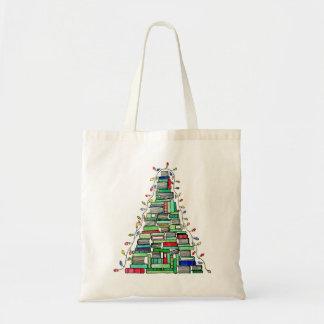 Christmas Book Tree 2017 Tote Bag