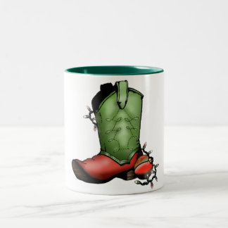 Christmas Boot Mug