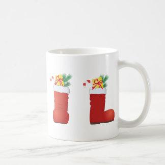 Christmas Boots Coffee Mug