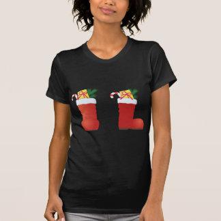 Christmas Boots T-Shirt