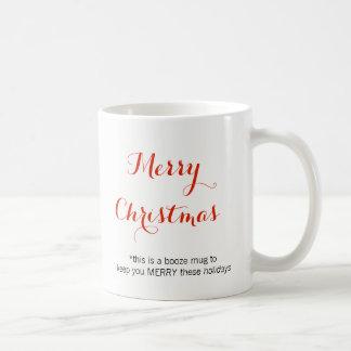 Christmas Booze Coffee Mug