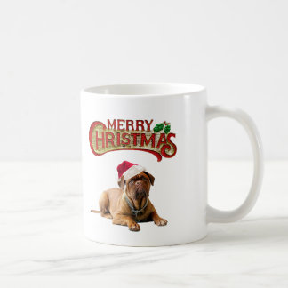 Christmas Bordeauxdog Coffee Mug