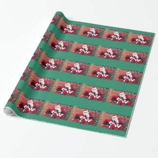Christmas - Border Collie - Flip Wrapping Paper