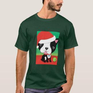 Christmas Boston Terrier t-shirts