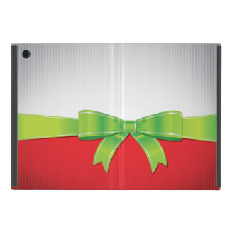 Christmas bow cover for iPad mini