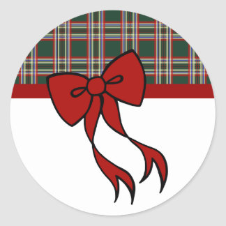 Christmas Bow Stickers