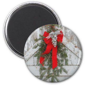 Christmas Bows and Bells Magnet