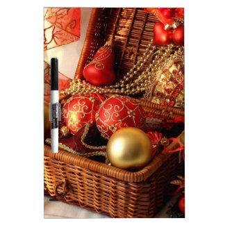Christmas box - Christmas decorations Dry Erase Board