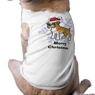 Christmas Boxer Pet Tshirt