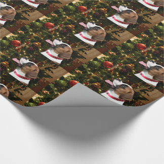 Christmas Boxer Wrapping Paper