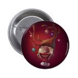 Christmas boy pinback buttons