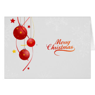 Christmas Bubbles Card