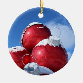 Christmas bulb photo decoration