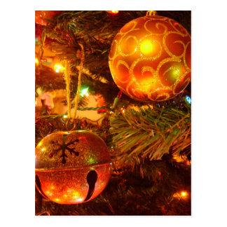 Christmas Bulbs Postcard