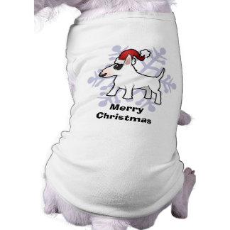 Christmas Bull Terrier Pet T-shirt