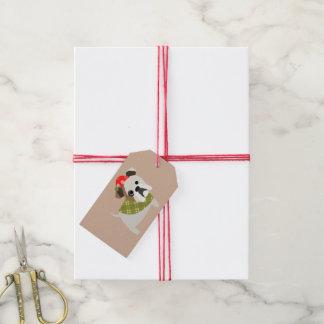 Christmas Bulldog Gift Tags