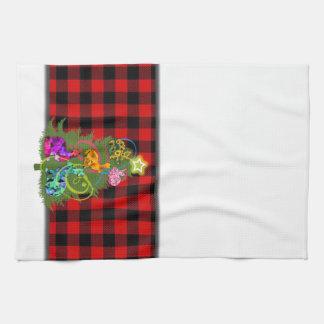 Christmas Bunnies Kitchen Towel