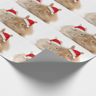 Christmas Bunny Holiday Wrapping Paper