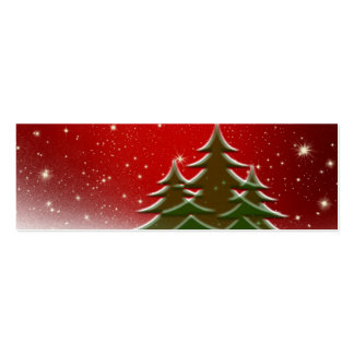 Christmas Business Card Templates