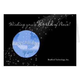Christmas - Business - World of Peace Card