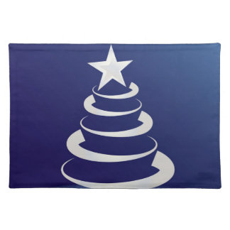 Christmas cake placemat