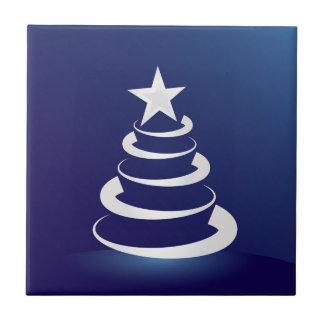 Christmas cake tile