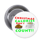 Christmas Calories Don't Count Humour Funny