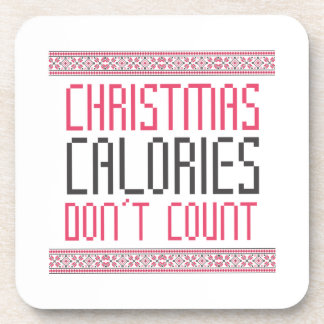 Christmas Calories Drink Coasters