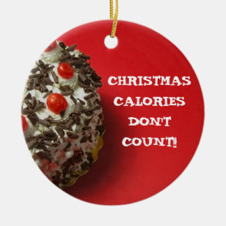 CHRISTMAS CALORIES... HOLIDAY ORNAMENT